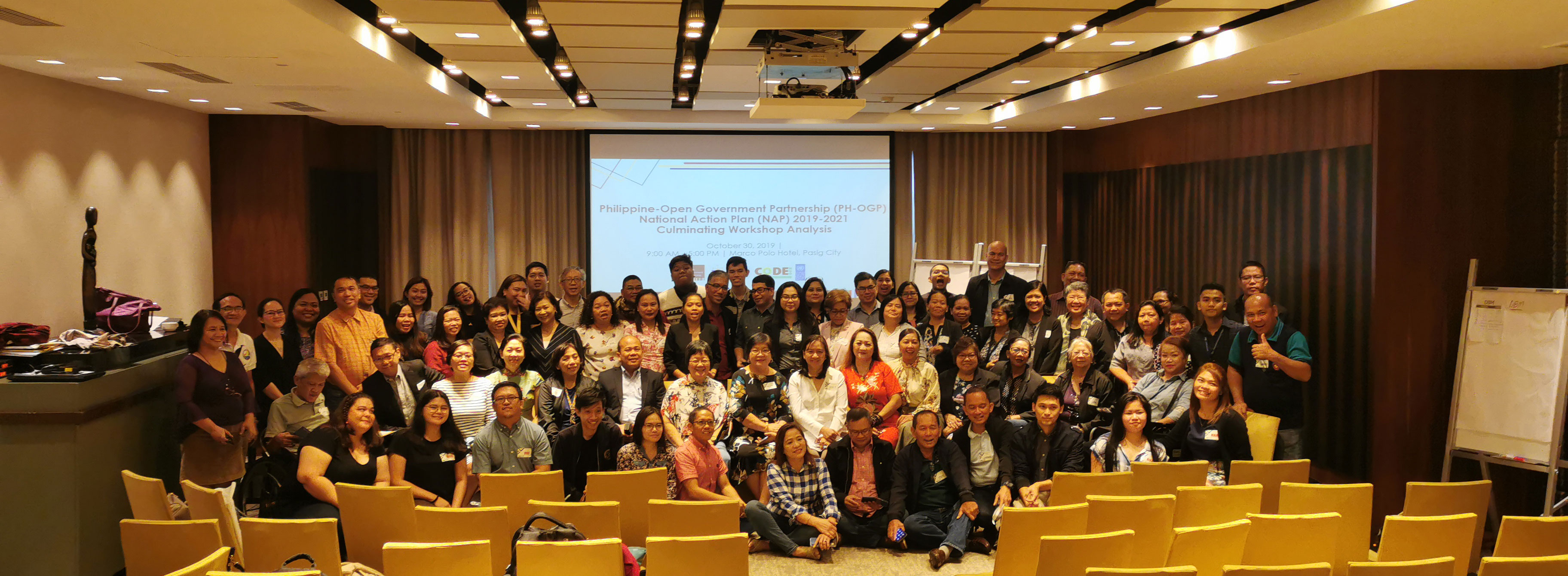 Participants of the OGP Culminating Workshop together with the PH-OGP Steering Committee